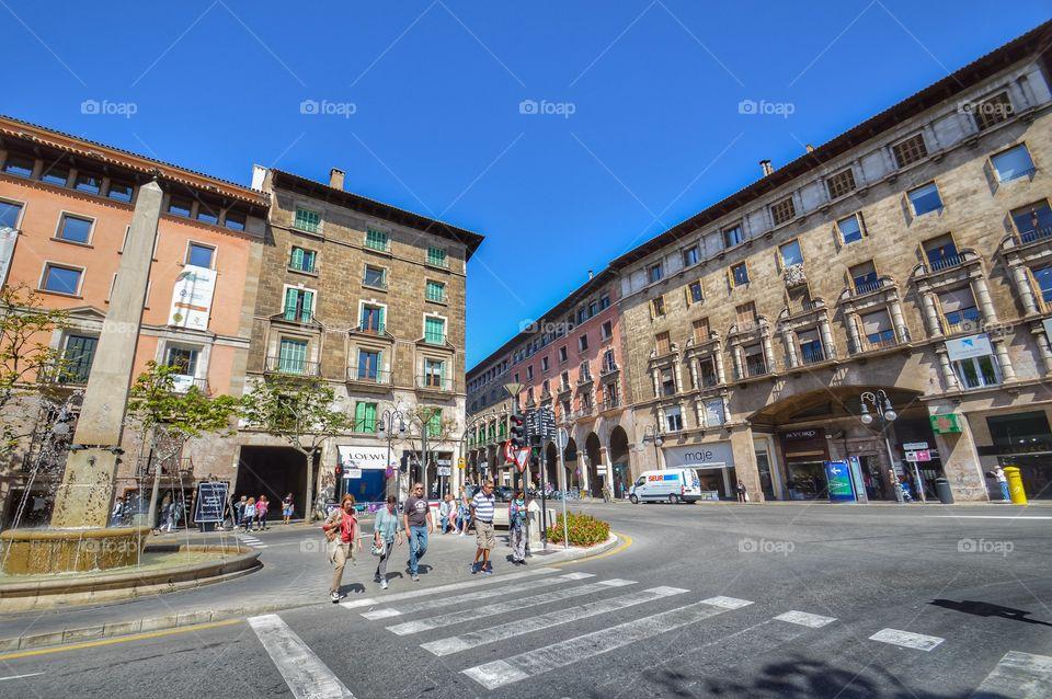 Plaza del Rey Juan Carlos I (Palma de Mallorca - Spain)