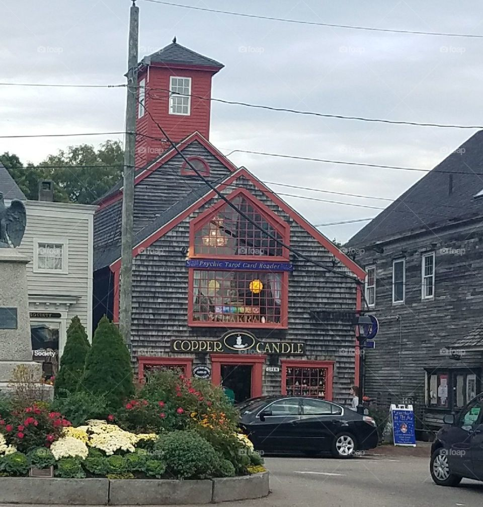 Candle store Kennebunkport Maine