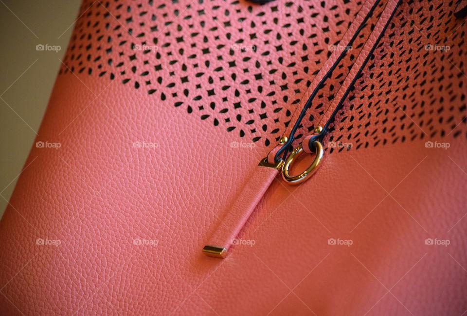 Close-up of purse