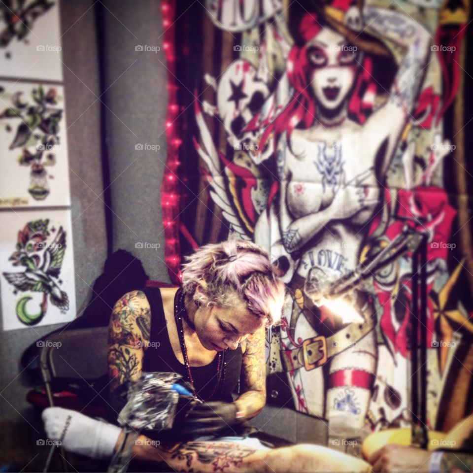 The international London Tattoo convention.