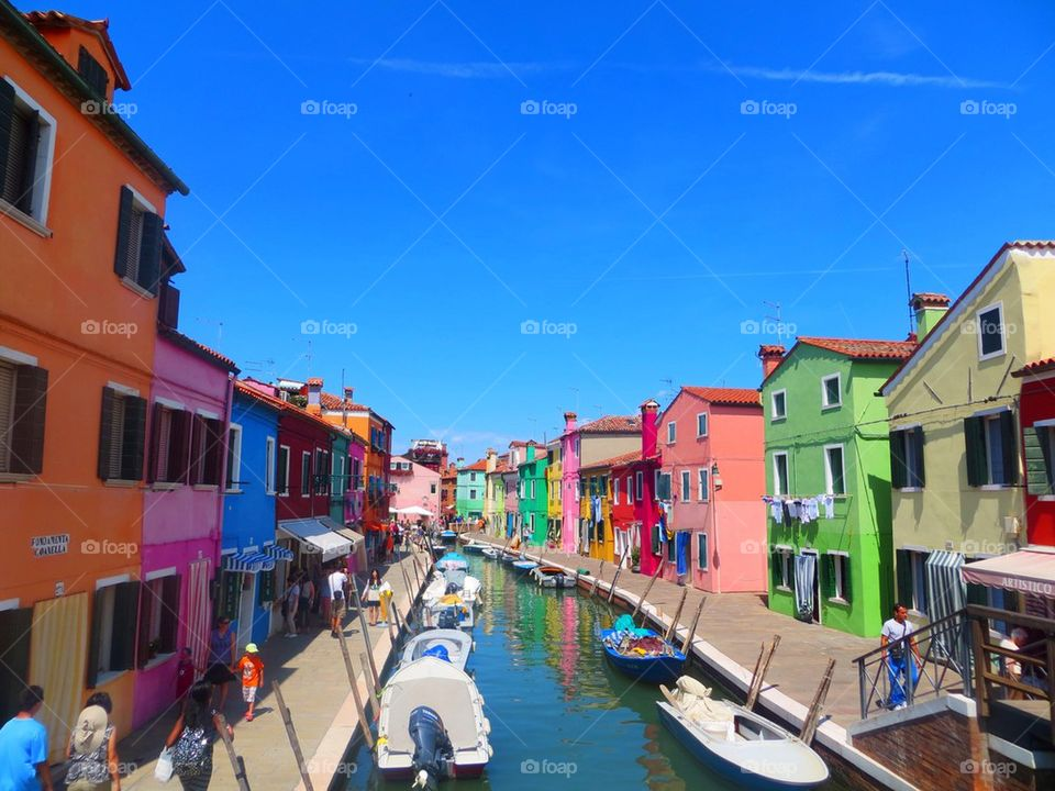Colourful Village