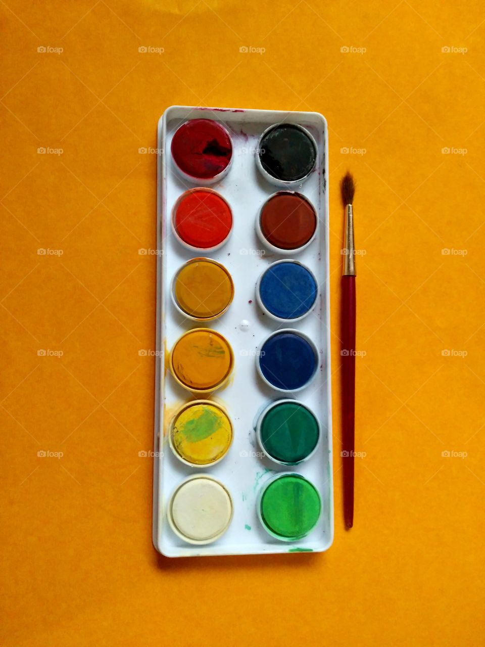 water colours