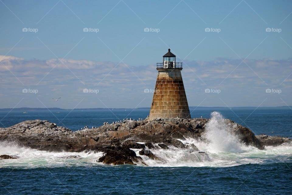 Saddleback Ledge Lighthouse
