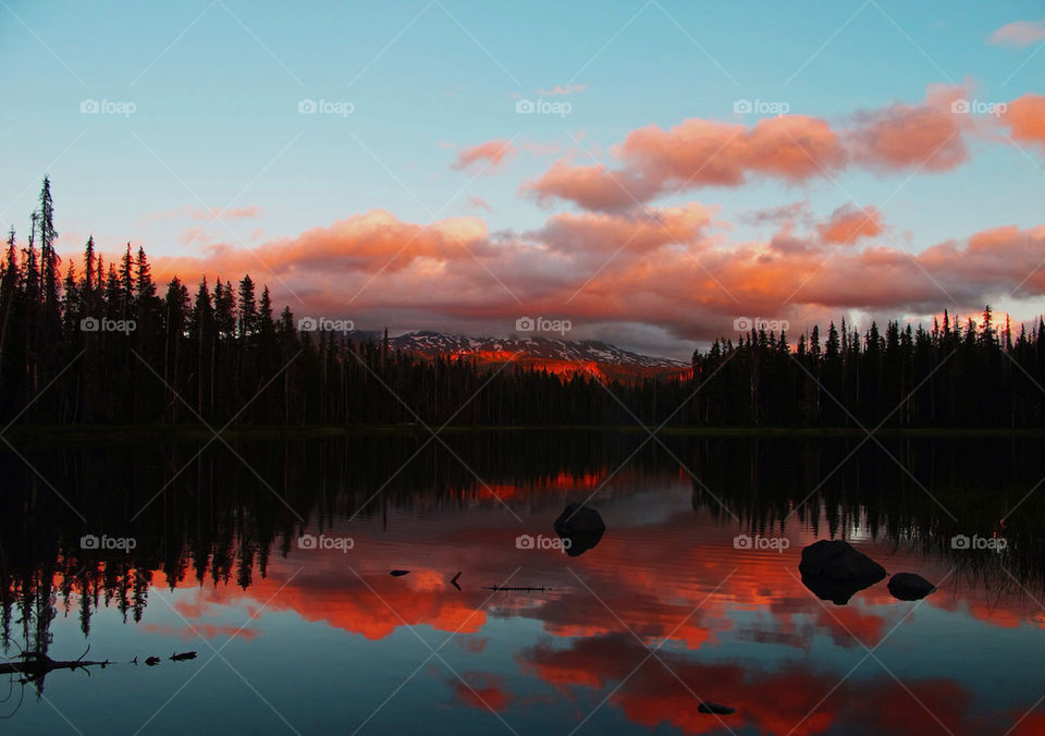 landscape nature mountain sunset by hddatmyers
