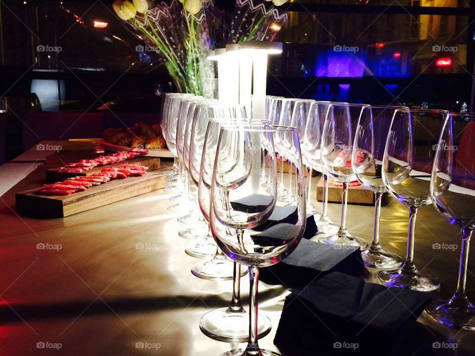 Restaurant, Dining, Table, Party, Bar