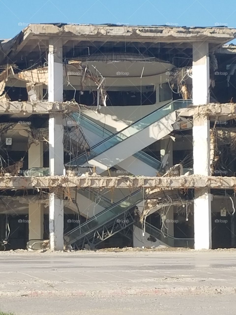 Building, Demolition, Architecture, Concrete, No Person