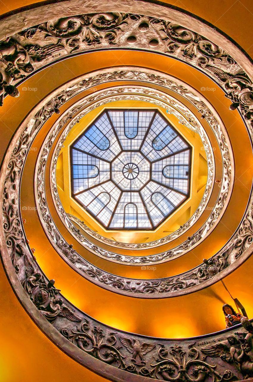 Looking up Vatican Rome