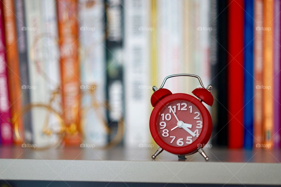 Red sweet clock