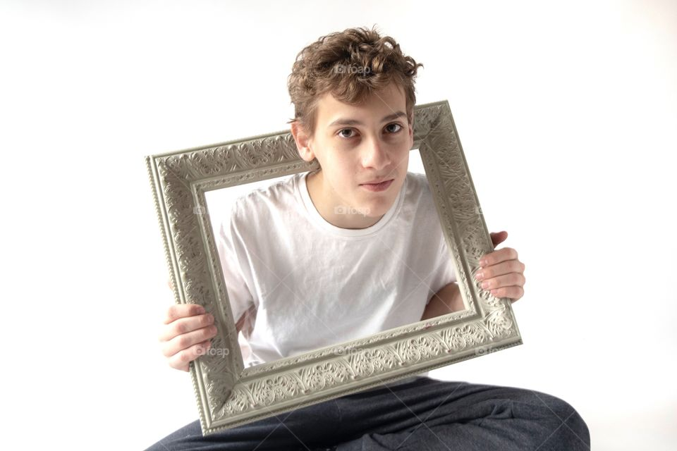Portrait in a Frame