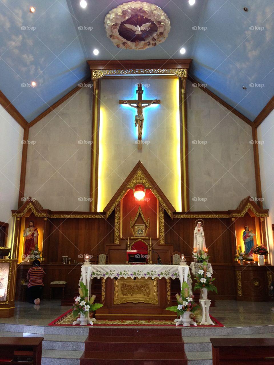 Catholic Church altar
