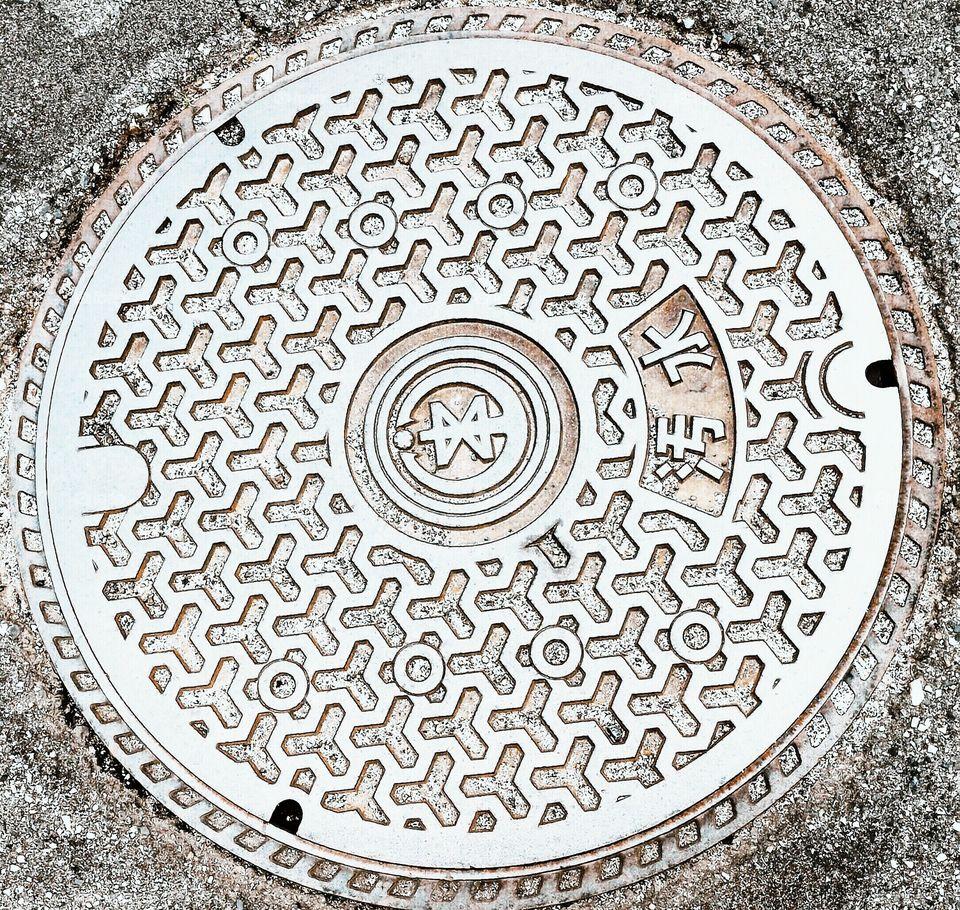 manhole unique design
