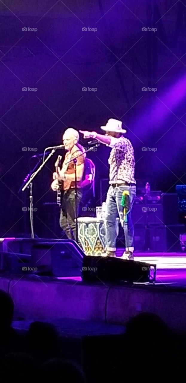 Sting and Shaggy concert in Jacksonville