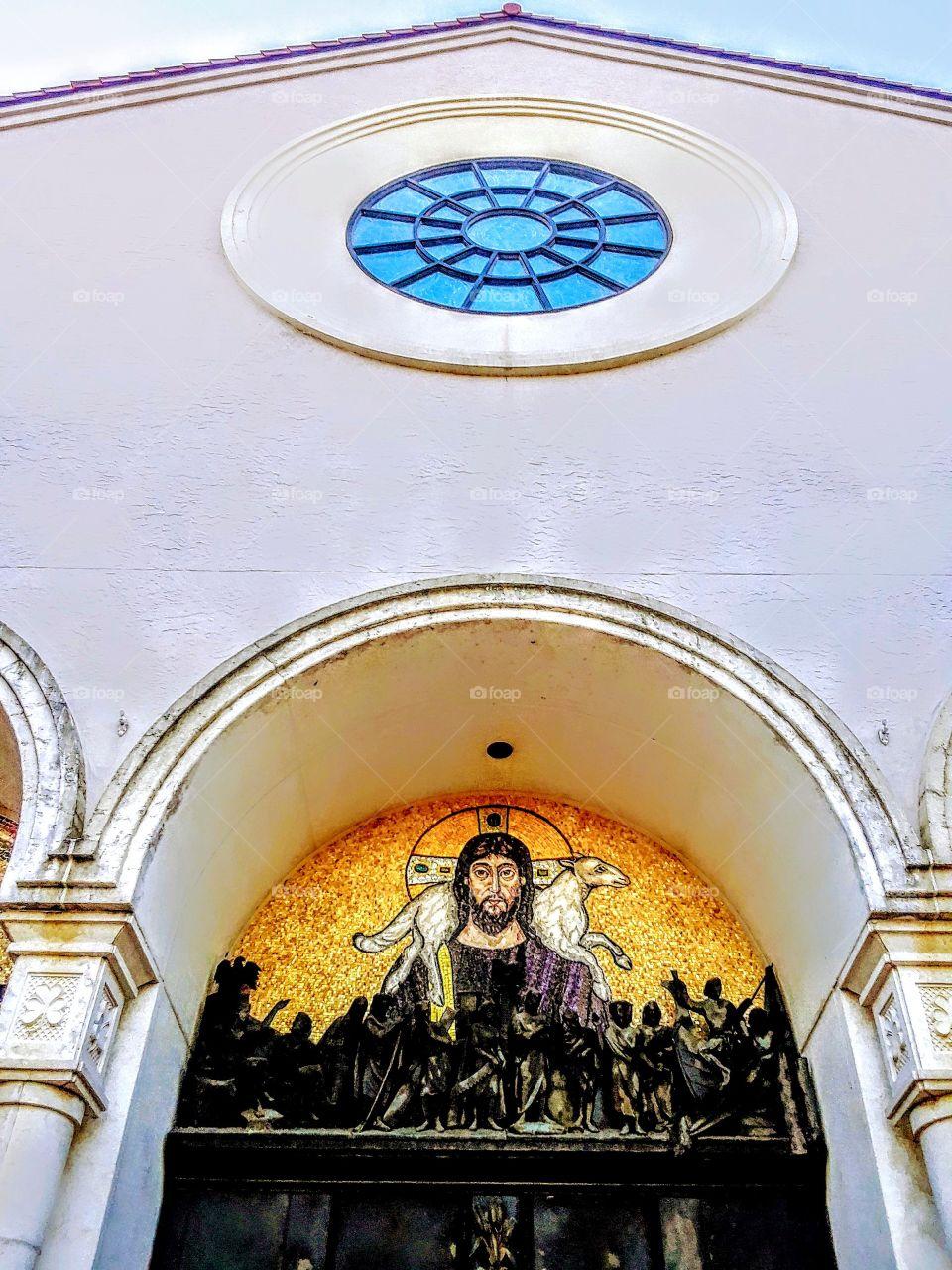 Mary Queen of the Universe Basilica in Orlando Florida