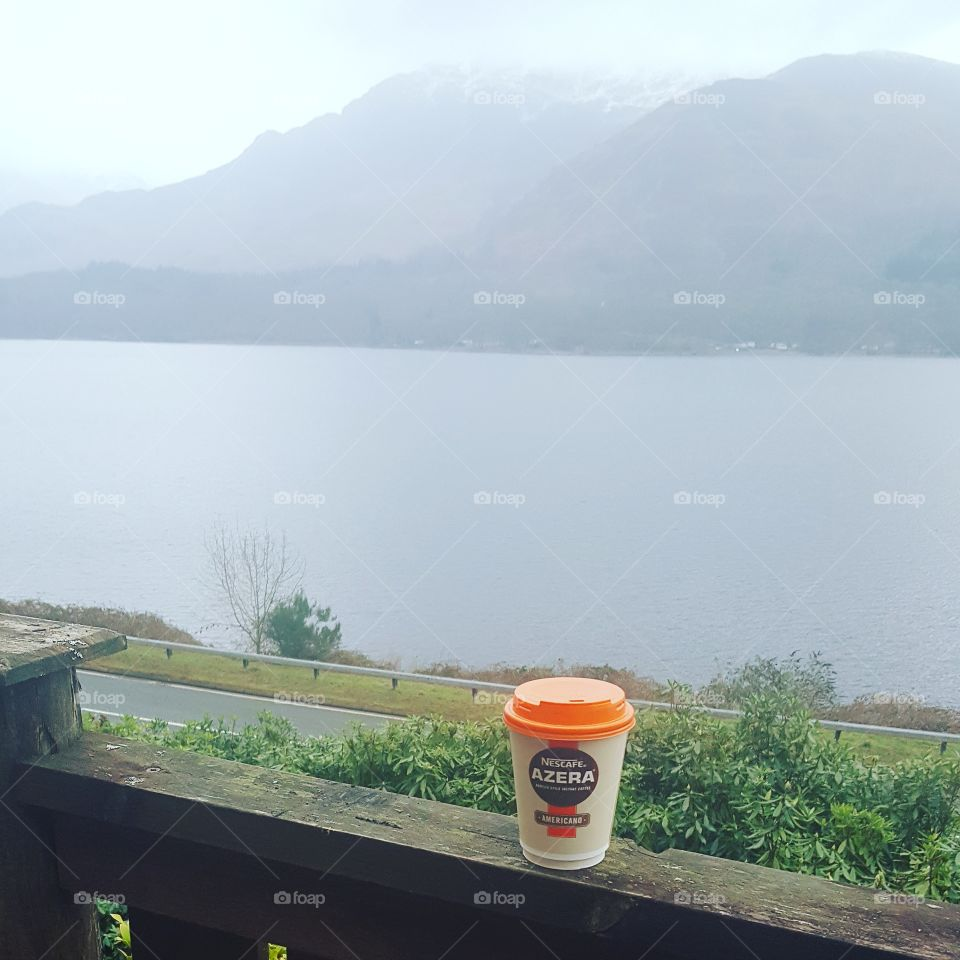 mountains and coffee