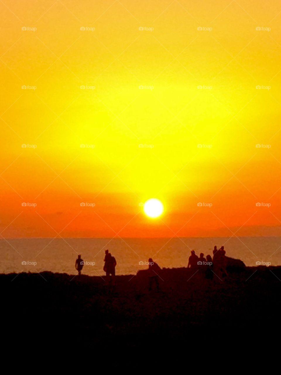 The Golden Hour in Menorca. Menorca Island, beautiful.