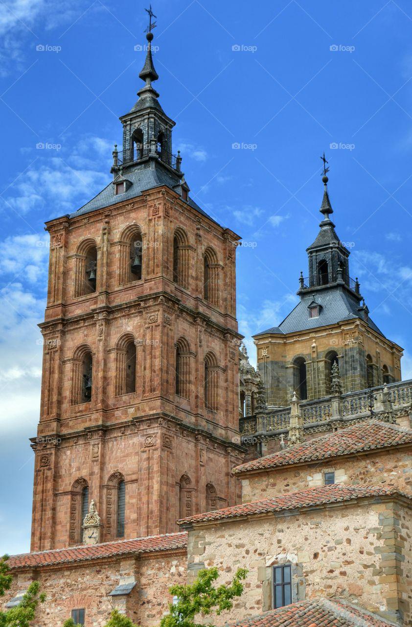 Astorga cathedral. Cathedral, Astorga, Spain