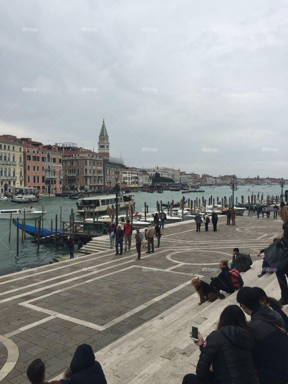 Your view awaits. Santa Lucia Train Station. Venice, Italy