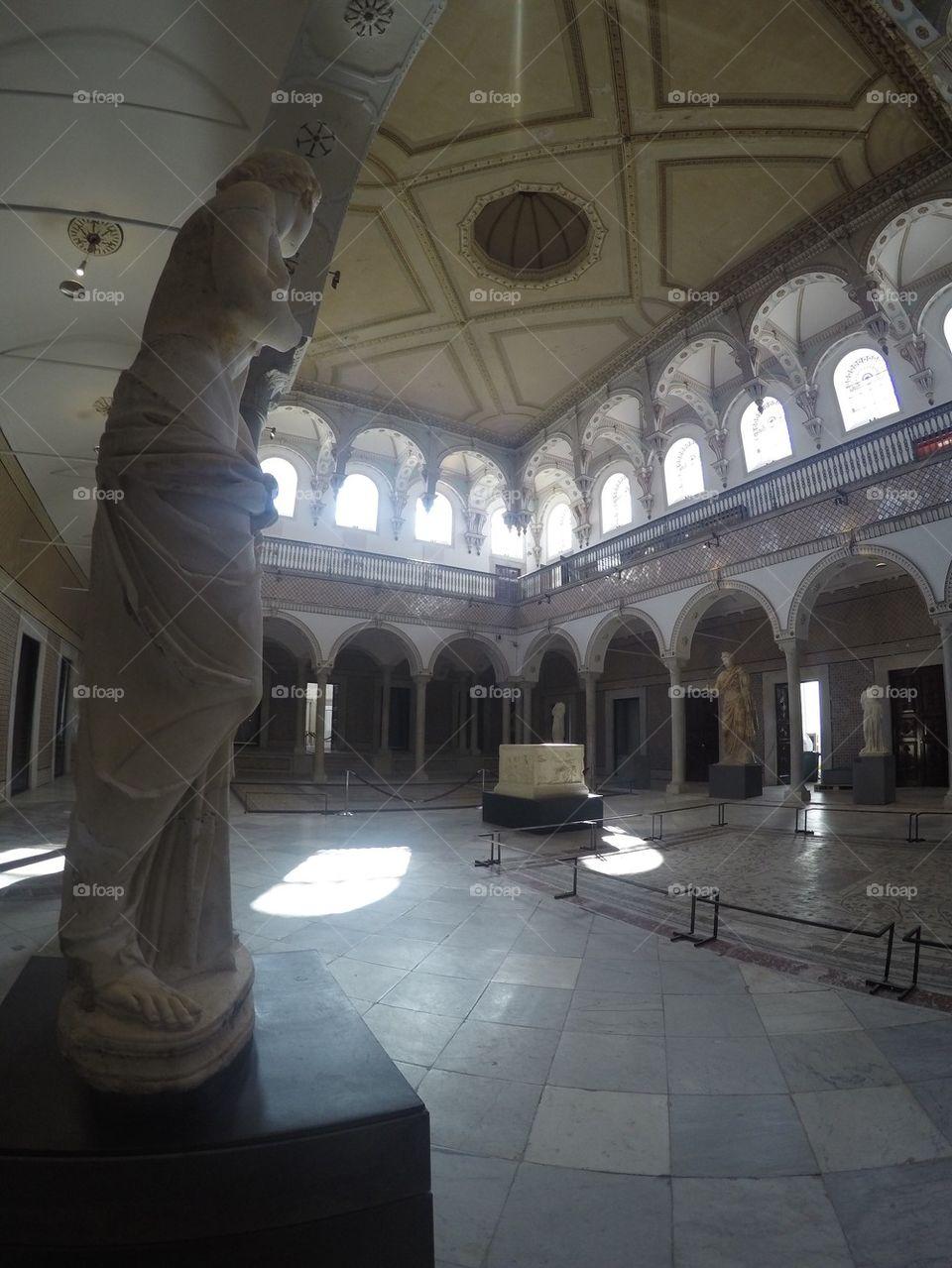 Bardo museum in Tunis, Tunisia