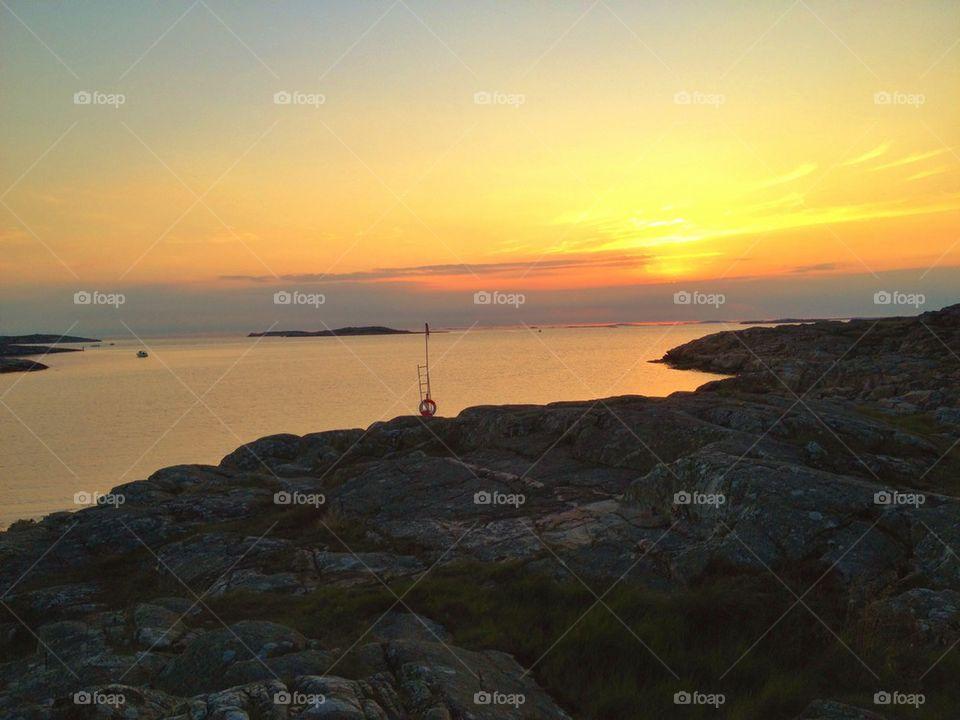 Sunset at Sandö