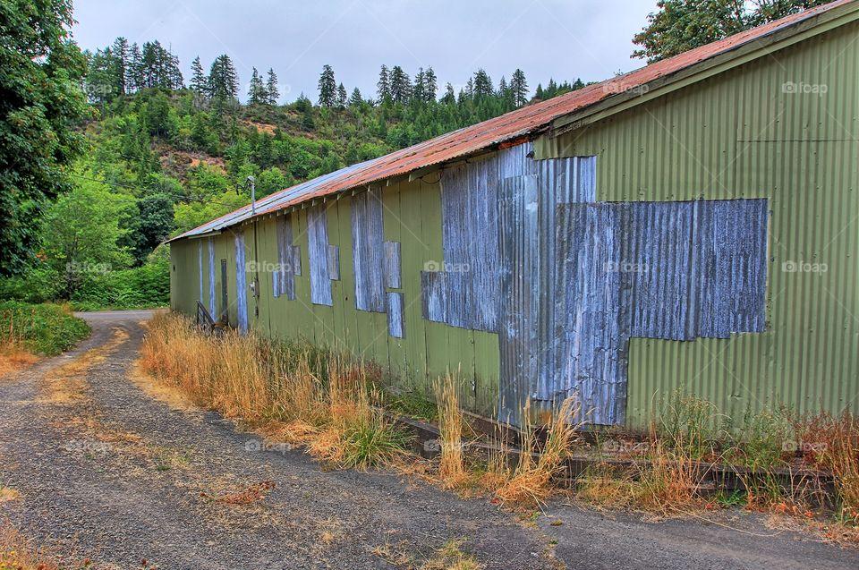 Mapleton Oregon Garage