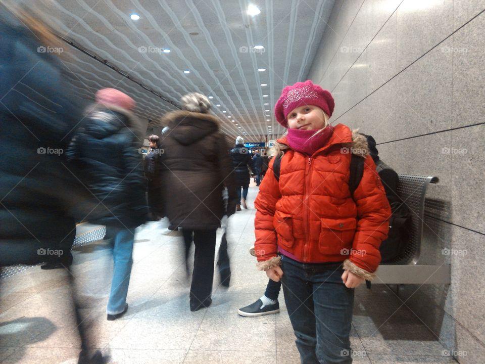 underground subway. warsow subway