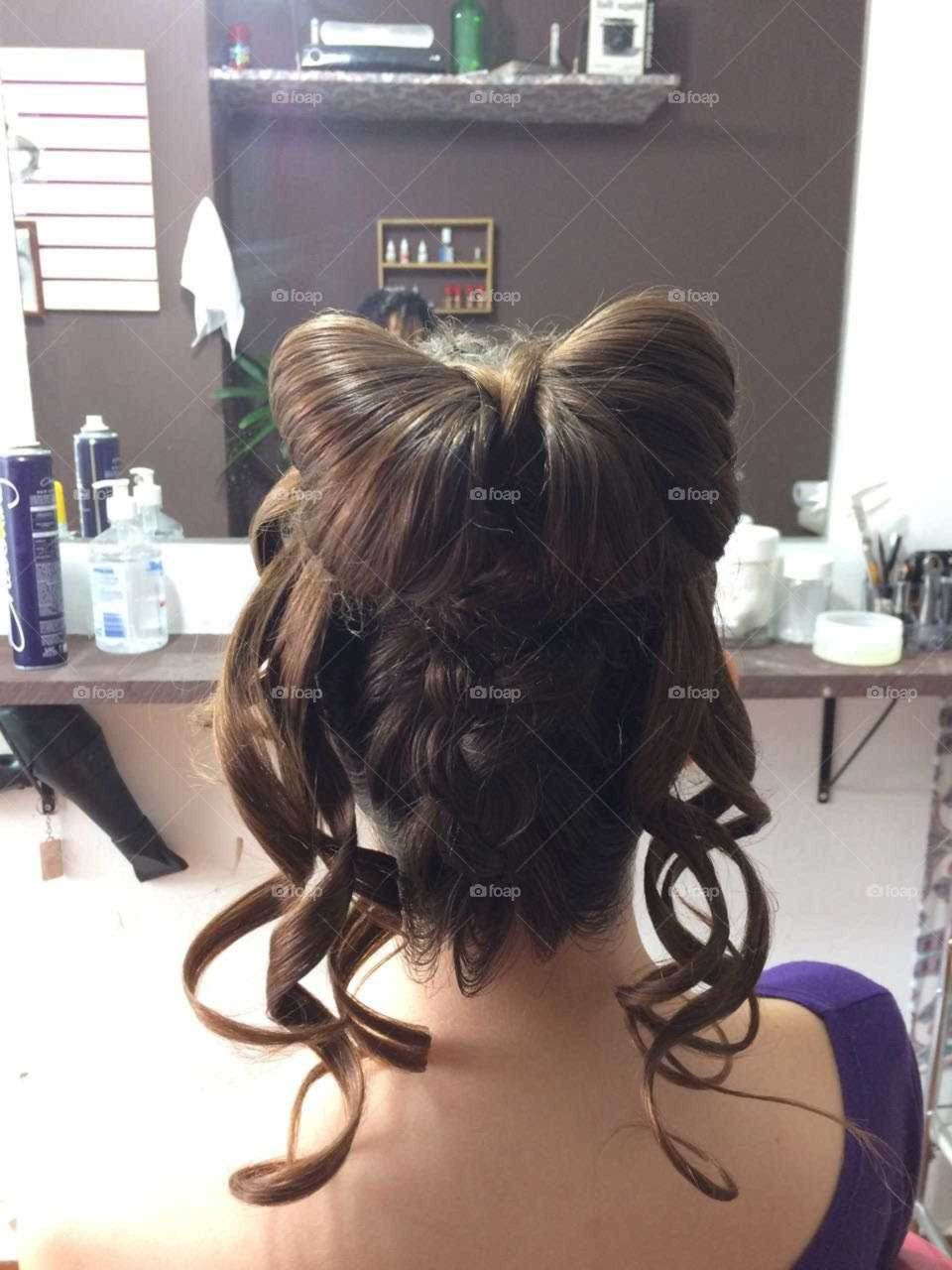 laço de cabelo