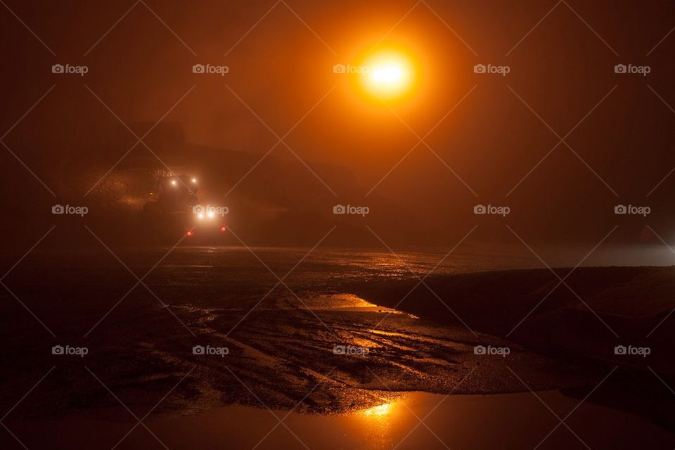 light red work fog by cekari