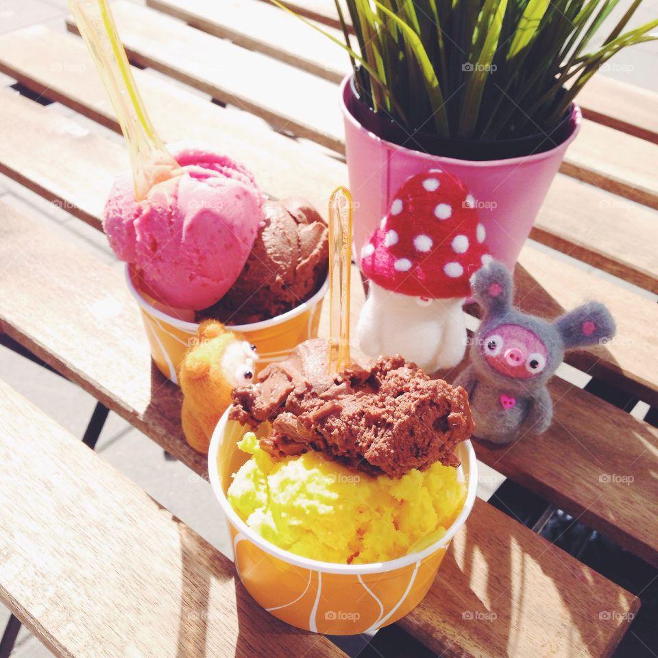 18 smaker vegan icecream