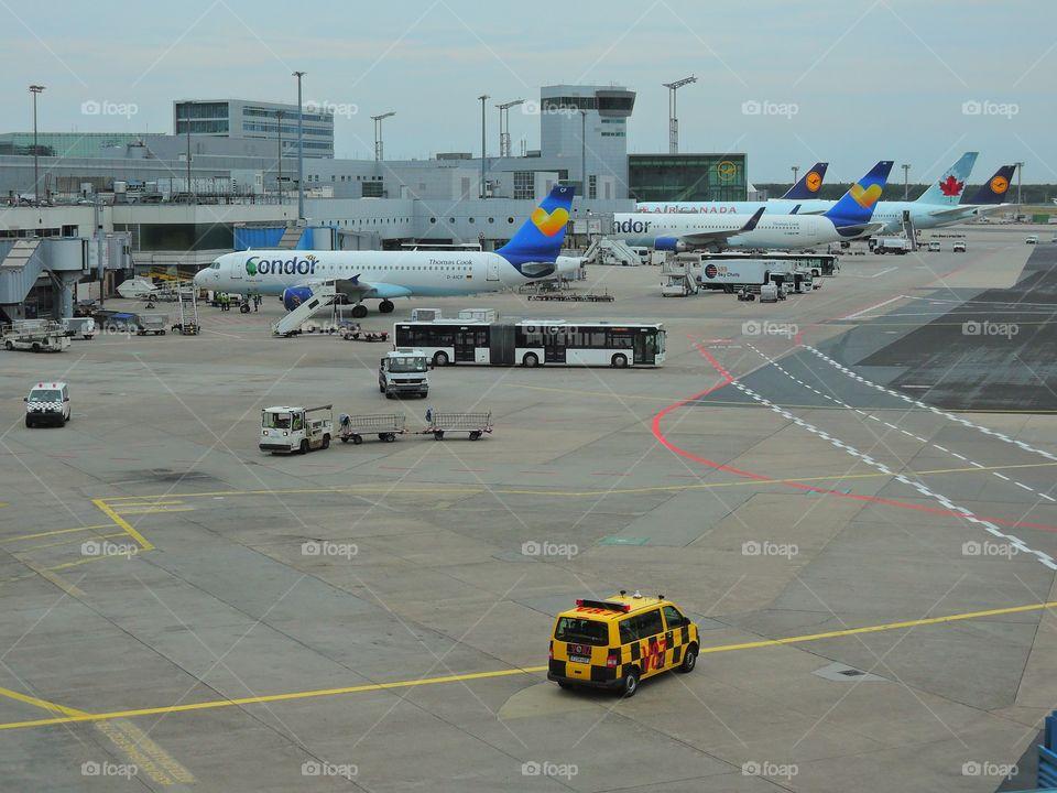 Lufthansa, Frankfurt Airport Germany