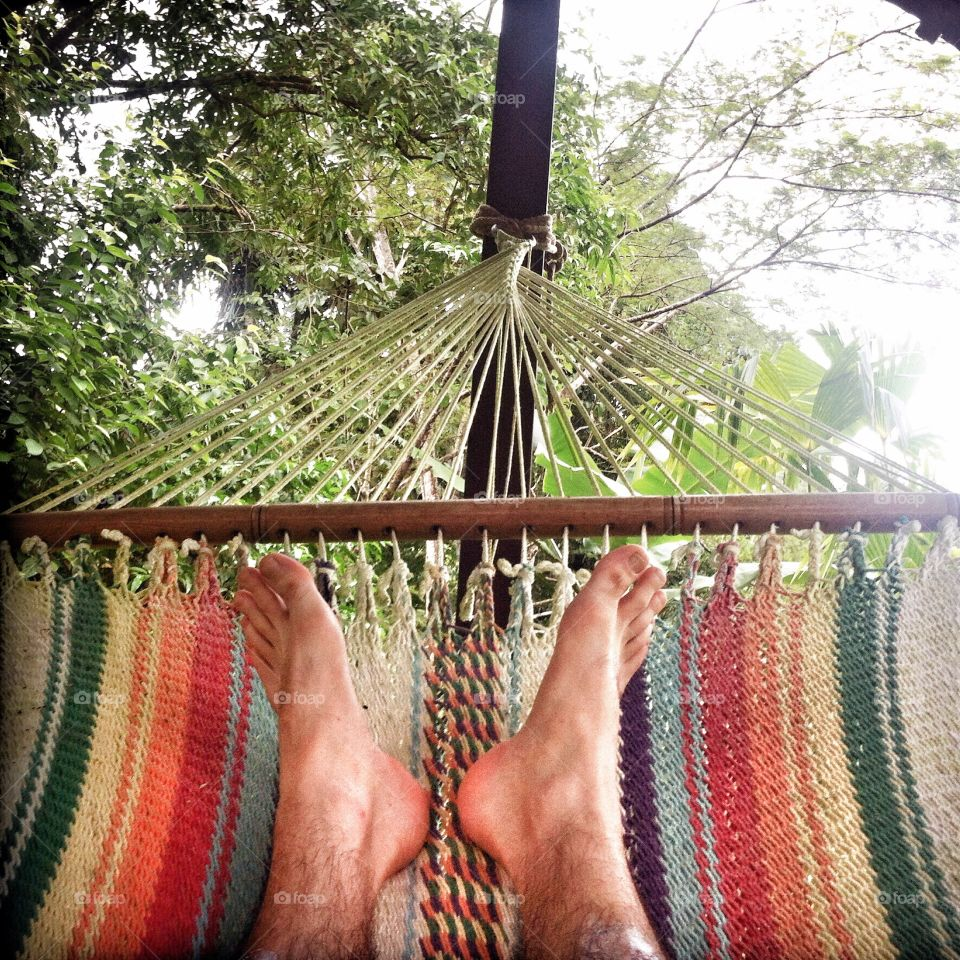 Kick Back and Relax in a Hammock . Kick Back and Relax in a Hammock