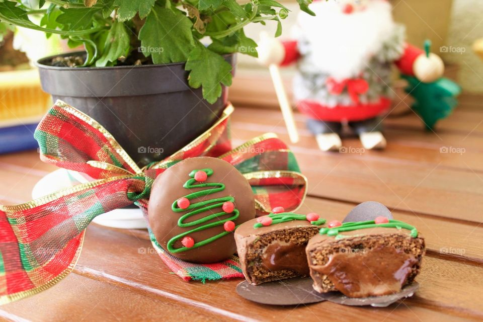 Chocolate Covered Christmas Gingerbread