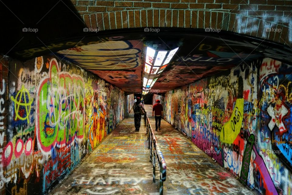Freedom of Expression Tunnel