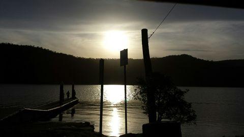 sunset siloette. perfect snapshot
