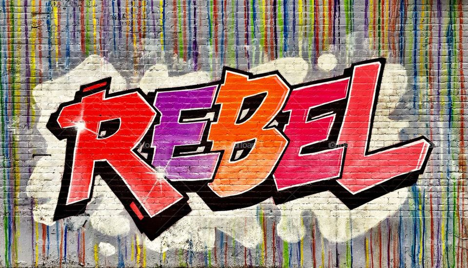 Rebel on a Wall