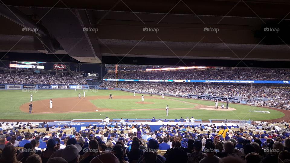 Dodgers vs Giants 8/23/16