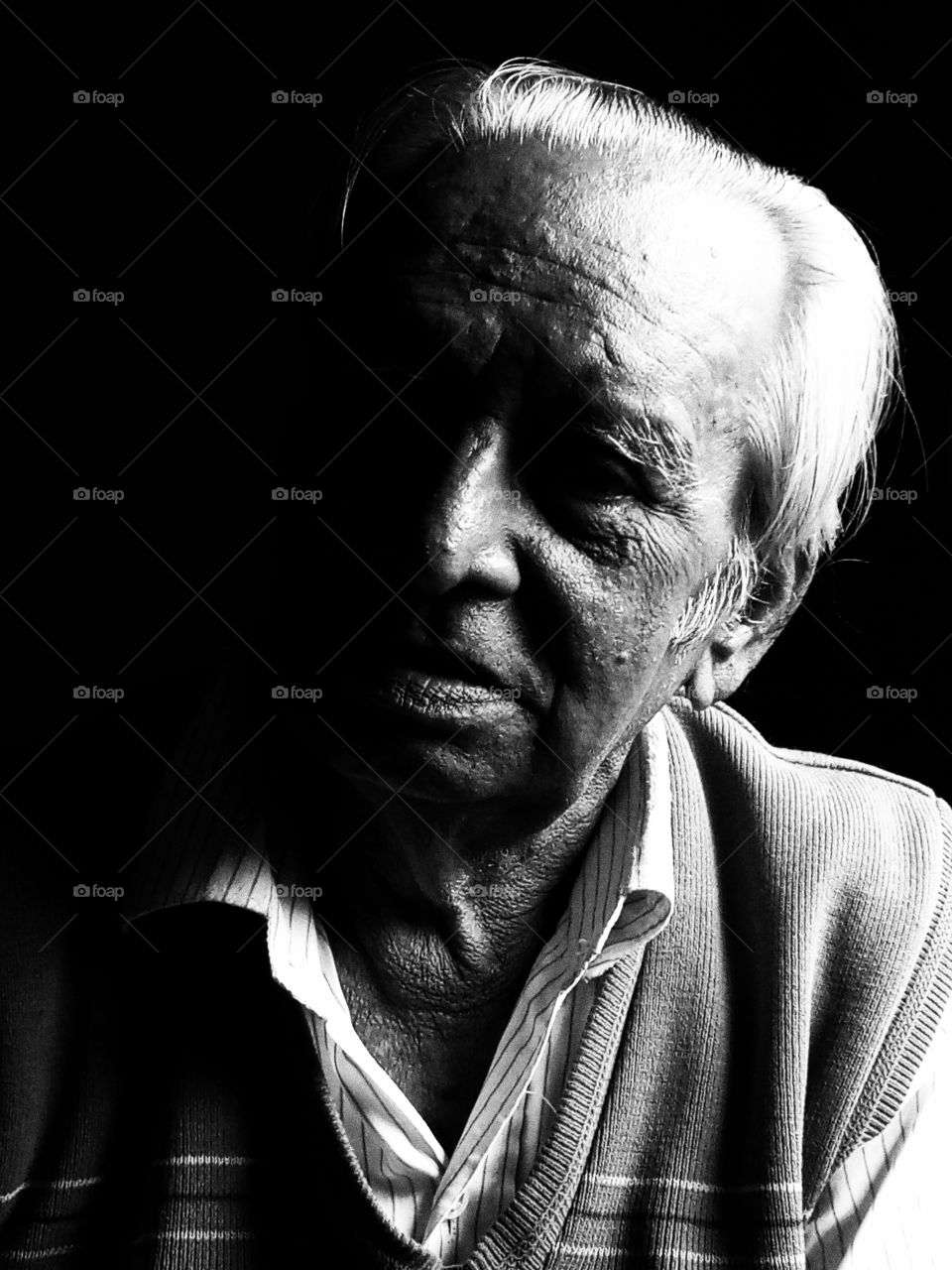 Man in old age