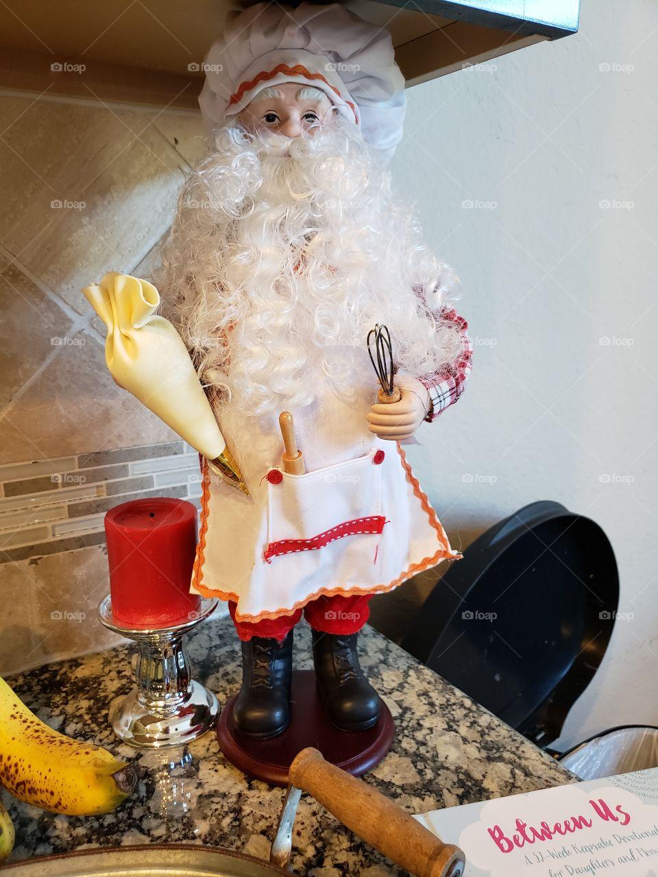 Baker Santa Claus