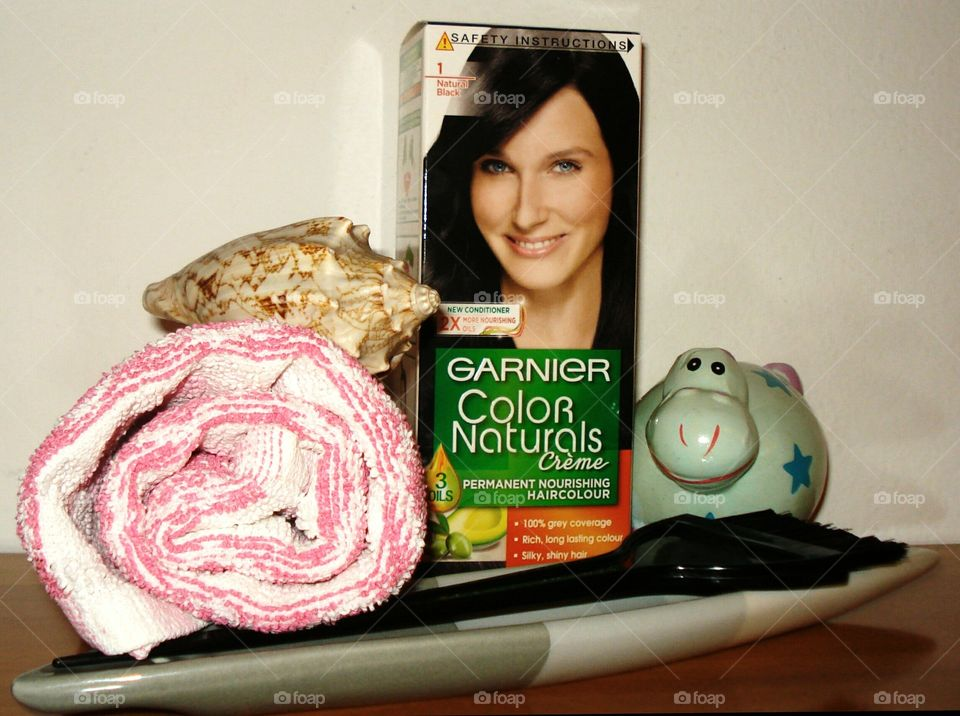 Natural Black Color Garnier