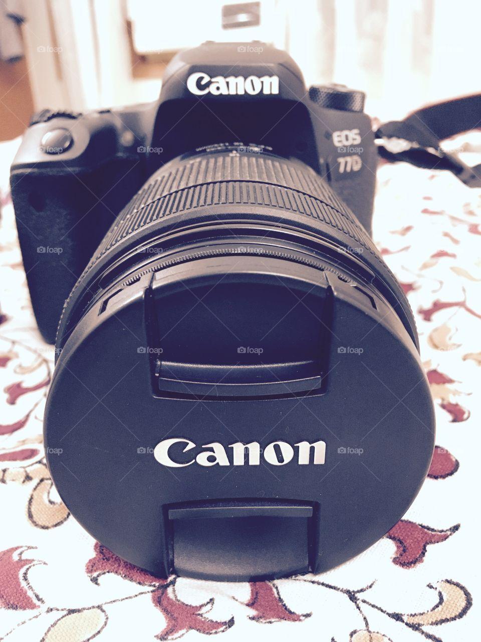 Canon dslr camera, camera
