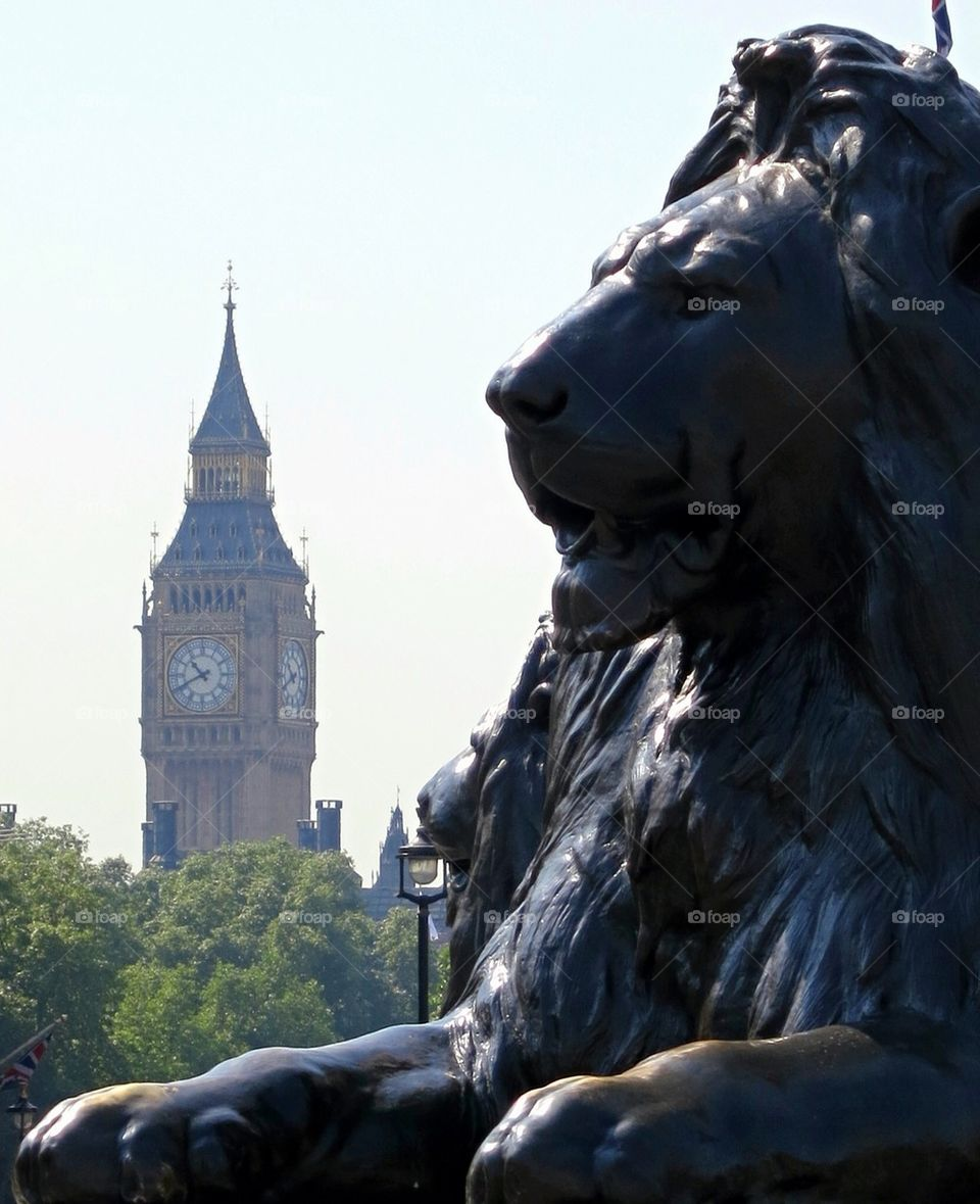 Big Ben and the Lion