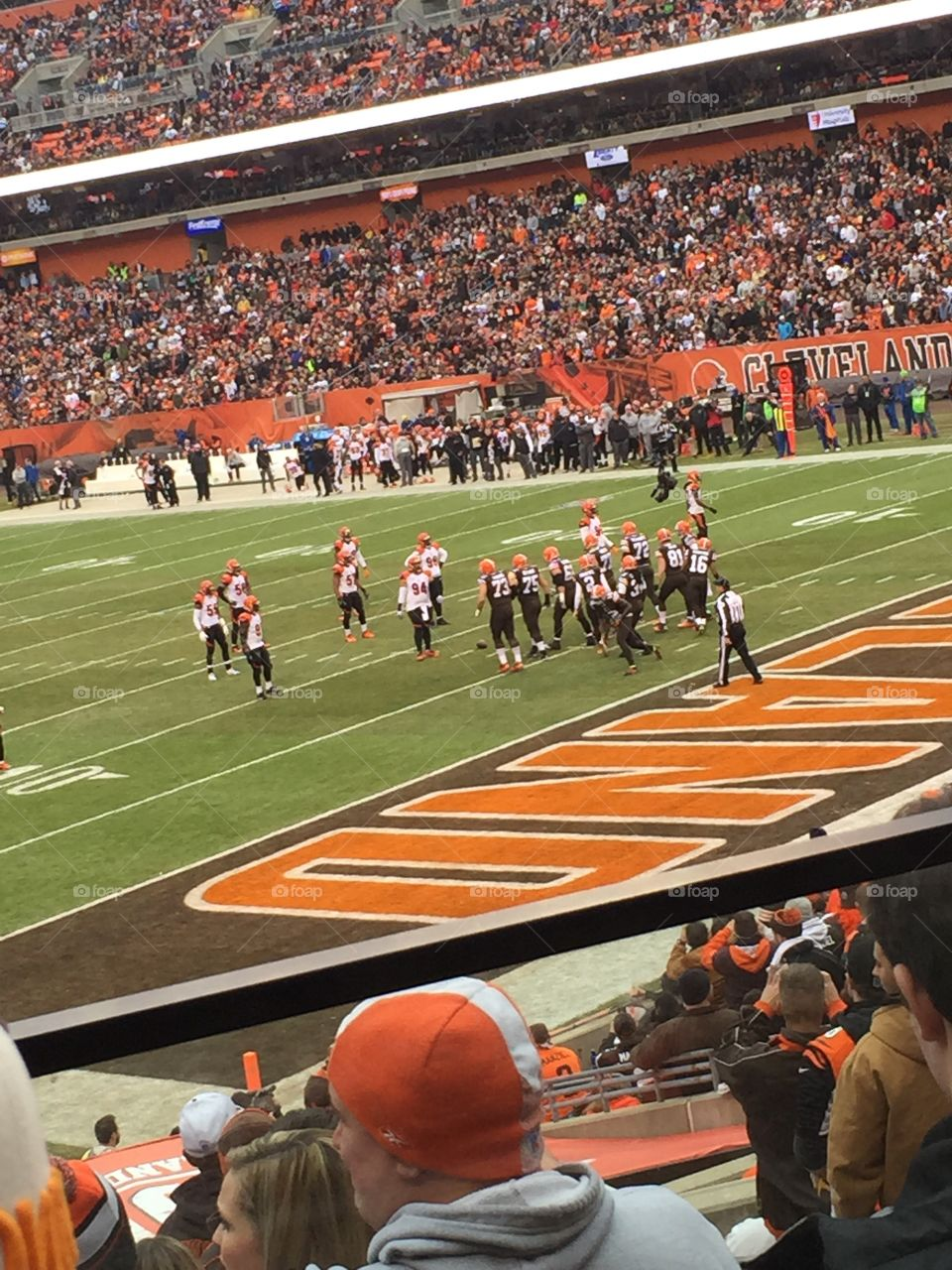 Cleveland Browns home game December 2015