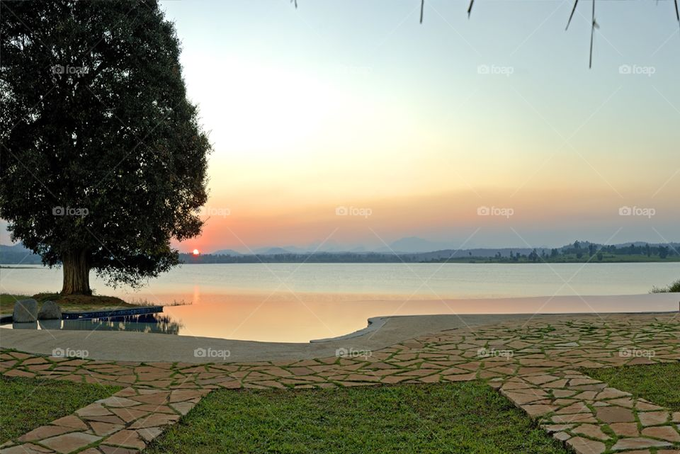 morning sunrise Image