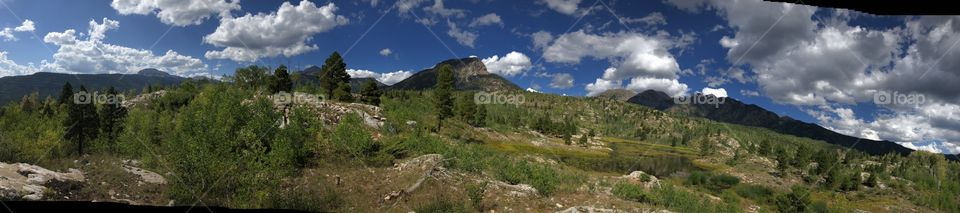 Isolated hike