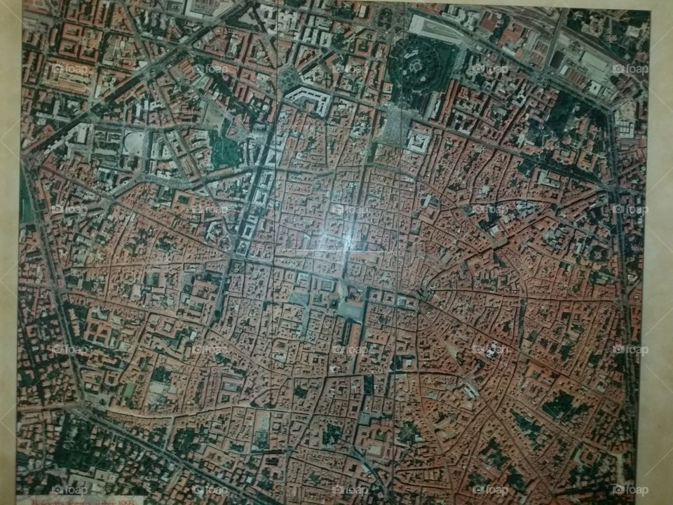 Bologna aerial view