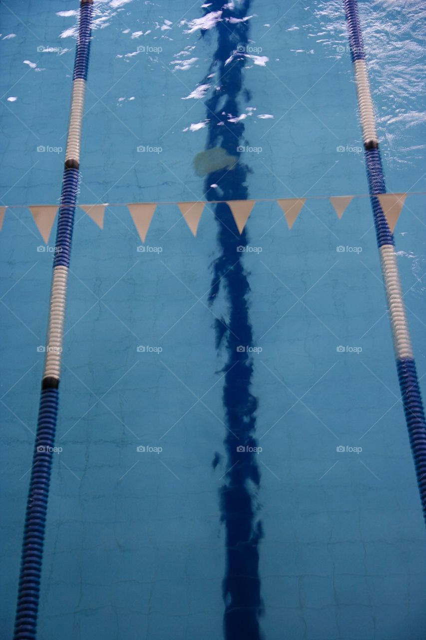 Rectangles are all around us, as seen in this picture of our local gym swimming pool