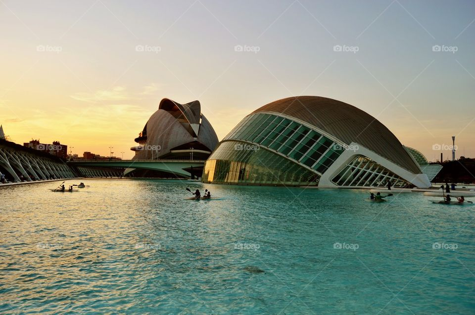City of Arts and Science, Valencia, Spain