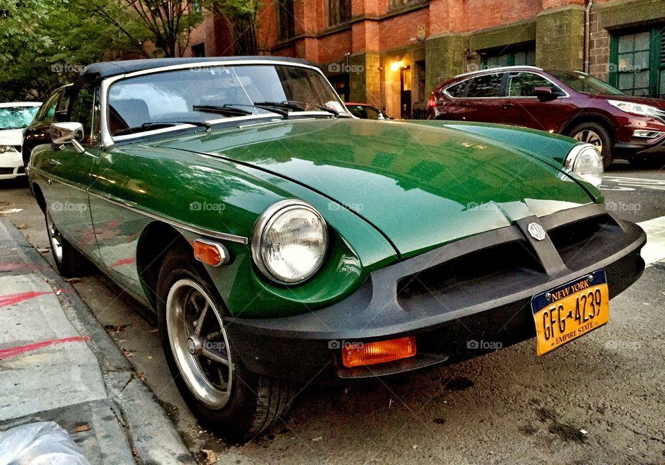 Classic MG Sports Car