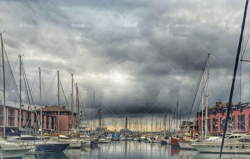 Porto Antico at Genoa (Italy)