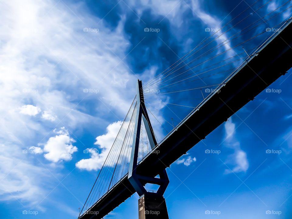 Köhlbrand Bridge Hamburg