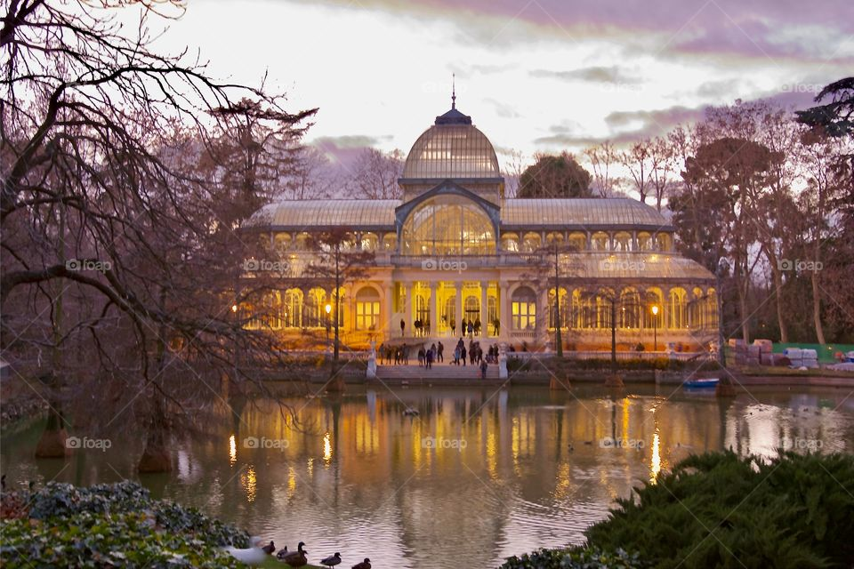The gorgeous Palacio Cristal in Madrid - worth a visit